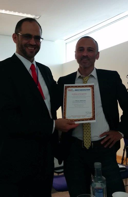 OMICS Certificate