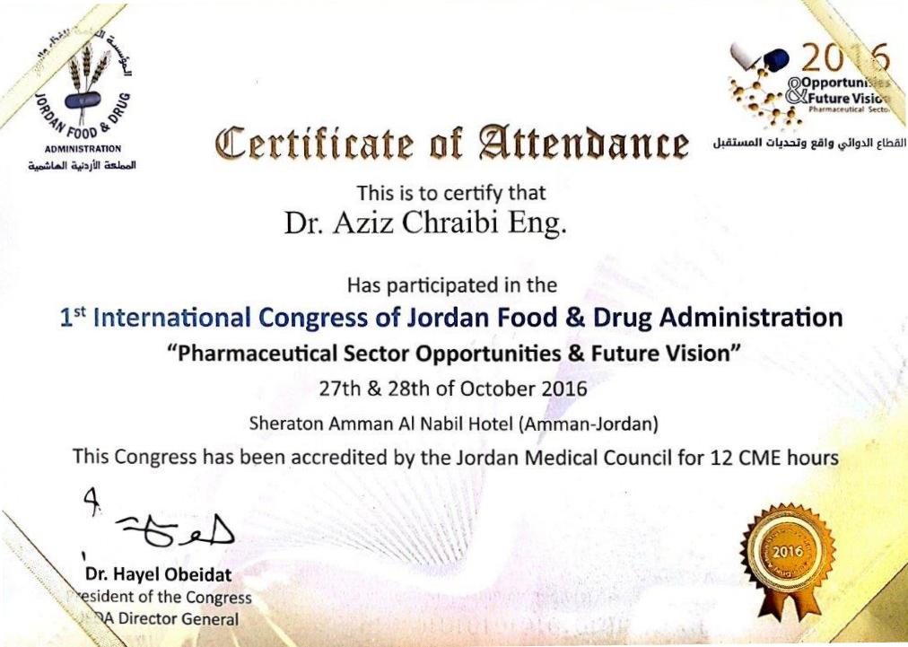 certificatjordan